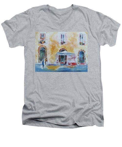 Italian Piazza Men's V-Neck T-Shirt