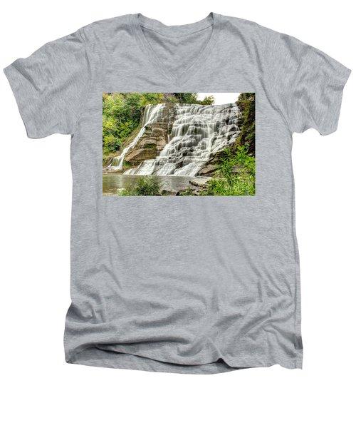 Ithaca Falls Men's V-Neck T-Shirt