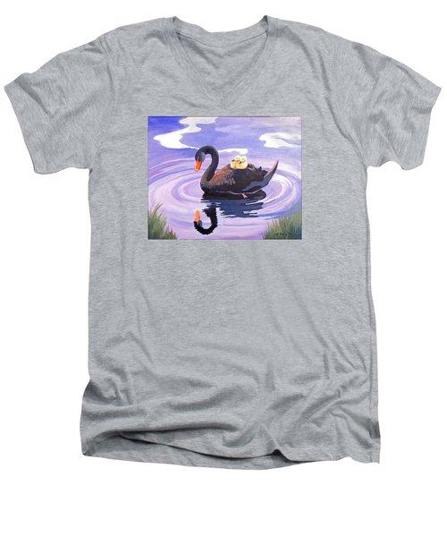 It's About Love Not Color Men's V-Neck T-Shirt