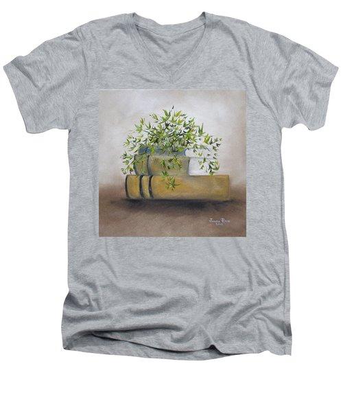 Ivy League Men's V-Neck T-Shirt