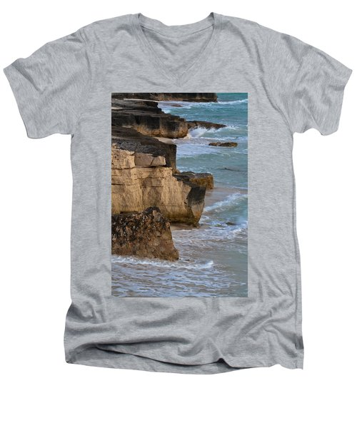 Jagged Shore Men's V-Neck T-Shirt