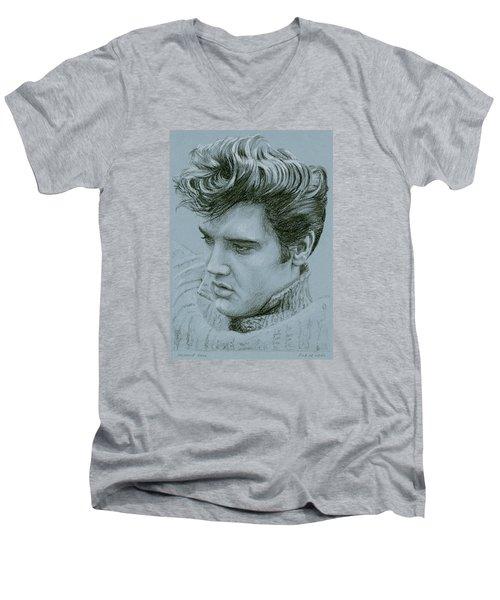 Jailhouse Rock Men's V-Neck T-Shirt