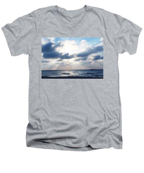 Jamaican Sunset2 Men's V-Neck T-Shirt