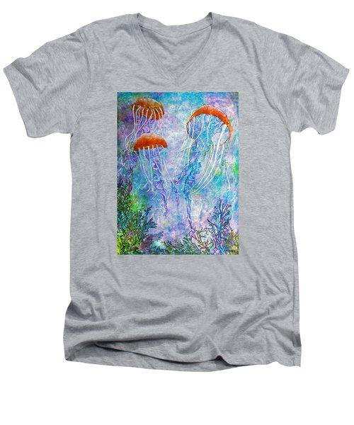 Jellies Men's V-Neck T-Shirt