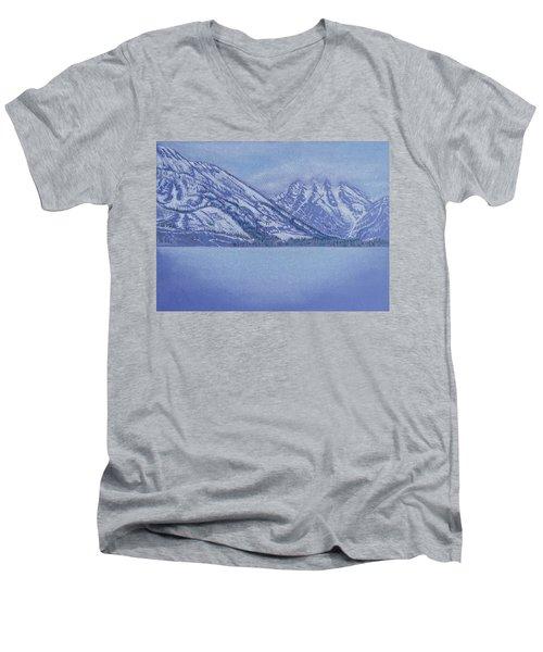 Jenny Lake - Grand Tetons Men's V-Neck T-Shirt