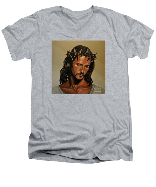 Jesus Christ Superstar Men's V-Neck T-Shirt