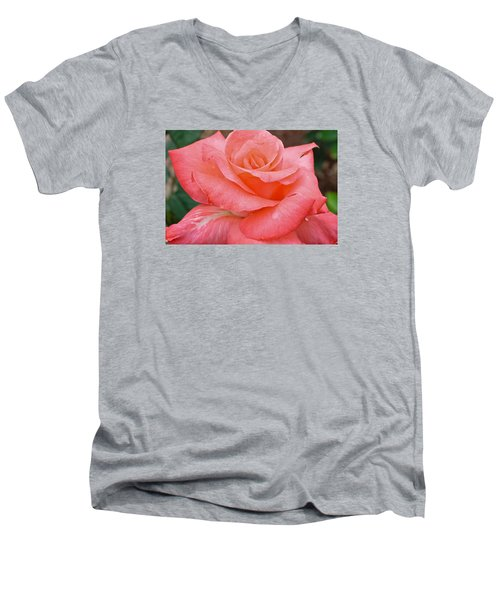 Men's V-Neck T-Shirt featuring the photograph Jewel by Julie Andel
