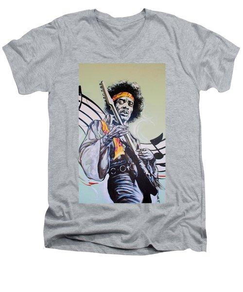 Jimi Men's V-Neck T-Shirt