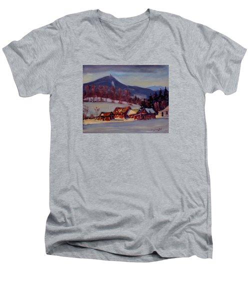 Jimmie's Place Men's V-Neck T-Shirt