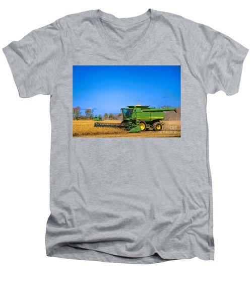 John Deere 9770 Men's V-Neck T-Shirt