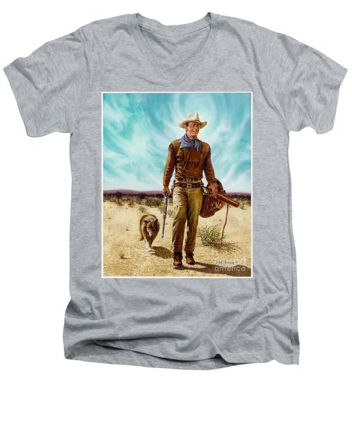 John Wayne Hondo Men's V-Neck T-Shirt