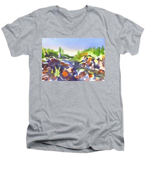 Johnsons Shut Ins Men's V-Neck T-Shirt