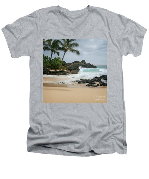 Journey Of Discovery  Men's V-Neck T-Shirt