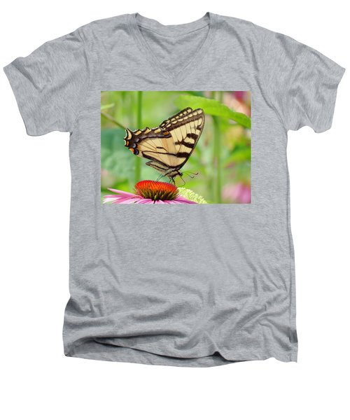July Swallowtail Men's V-Neck T-Shirt