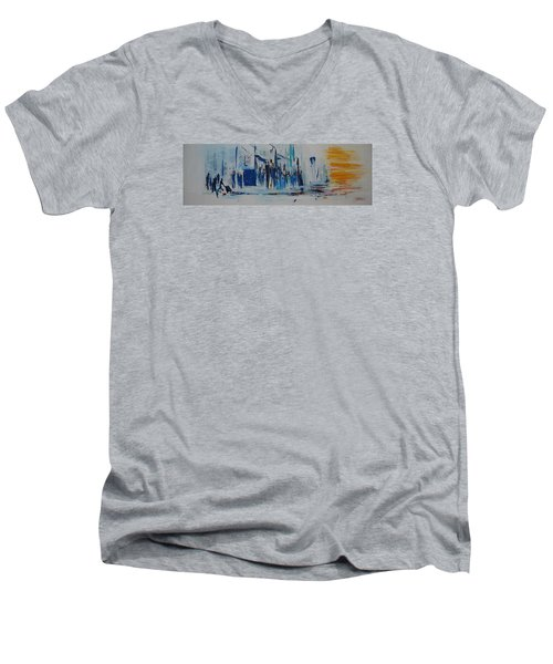 Just Another Day In New York City Men's V-Neck T-Shirt