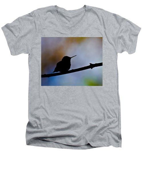 Men's V-Neck T-Shirt featuring the photograph Just Chillin by Robert L Jackson