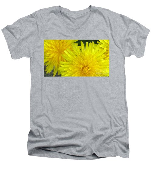 Men's V-Neck T-Shirt featuring the photograph Just Dandy by Janice Westerberg