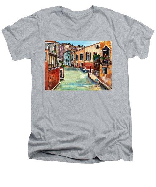 Just In The Neighborhood Men's V-Neck T-Shirt