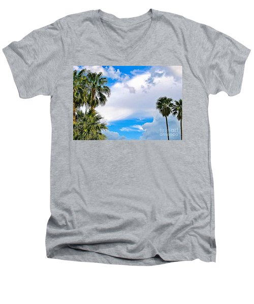 Just Mingling Men's V-Neck T-Shirt