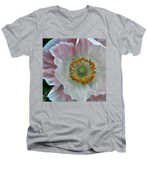 Just Opened Men's V-Neck T-Shirt by Barbara St Jean