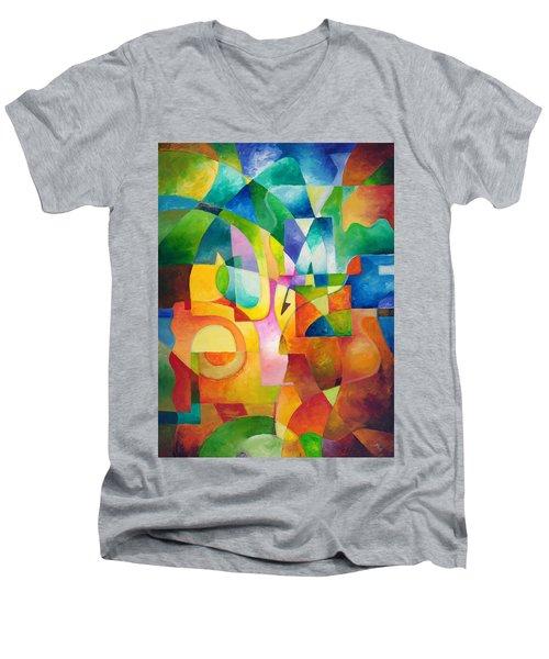 Just Outside Men's V-Neck T-Shirt