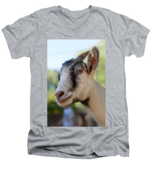 Just Say Chiiiz Men's V-Neck T-Shirt