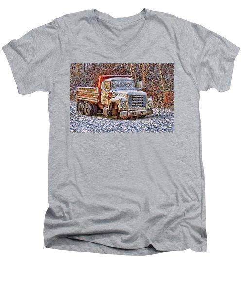 Just Worn Out Men's V-Neck T-Shirt