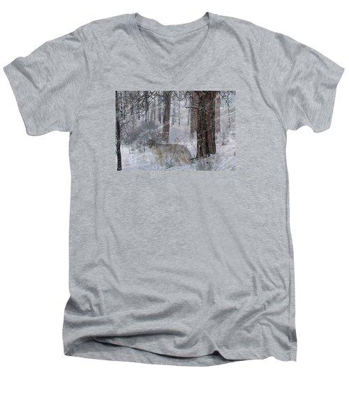 Kai O Ti Men's V-Neck T-Shirt by Ed Hall