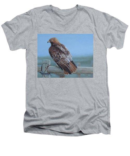 Kaiser's Hawk Men's V-Neck T-Shirt