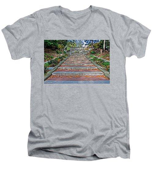 Kalorama Spanish Steps Men's V-Neck T-Shirt
