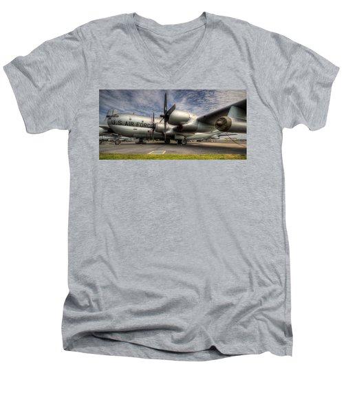 Kc-97 Tanker Men's V-Neck T-Shirt