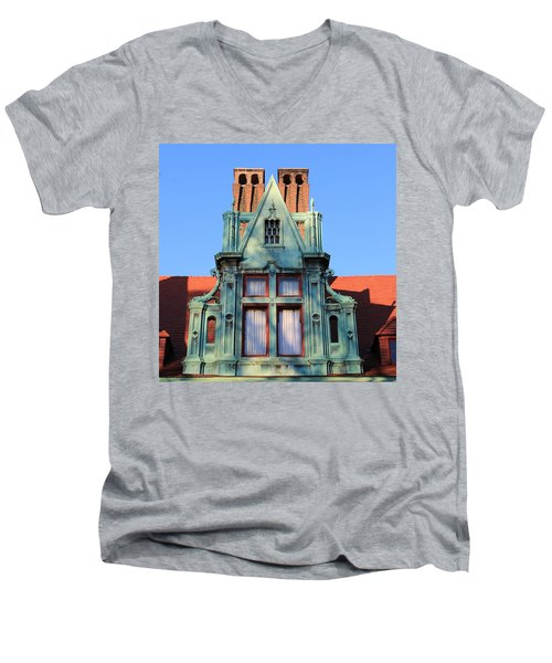 Keeper Of The Past Men's V-Neck T-Shirt
