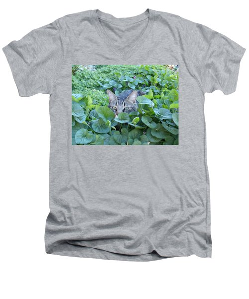 Keeping An Eye On You Men's V-Neck T-Shirt