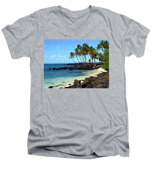 Kekaha Kai II Men's V-Neck T-Shirt