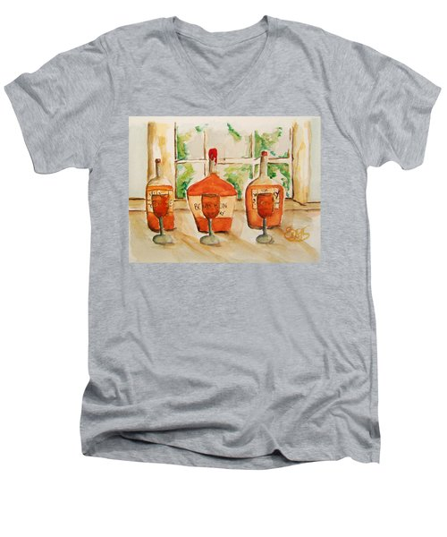 Kentucky Bourbon Sampler Men's V-Neck T-Shirt