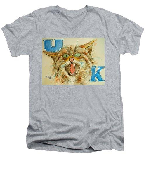 Kentucky Wildcats Men's V-Neck T-Shirt
