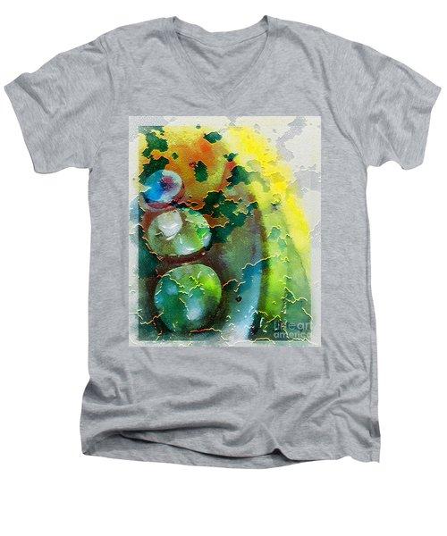 Kernodle On The Half Shell Men's V-Neck T-Shirt