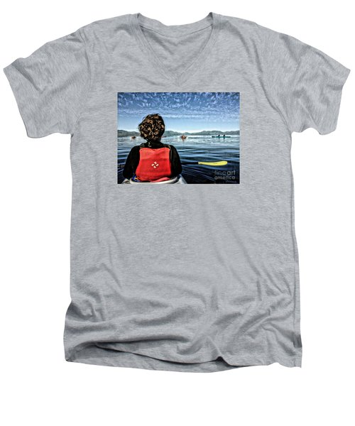 Ketchikan Men's V-Neck T-Shirt