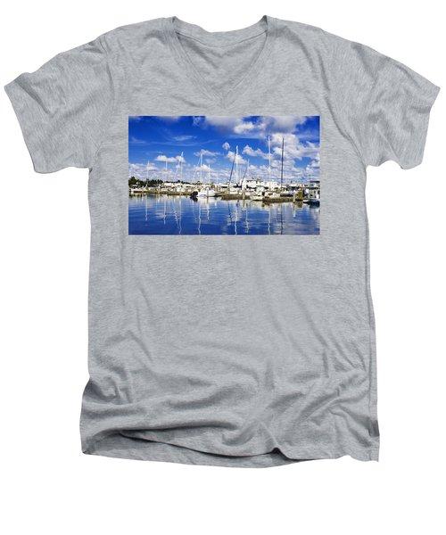 Key West Men's V-Neck T-Shirt