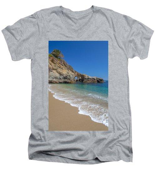 Keyhole Arch Laguna Beach Men's V-Neck T-Shirt