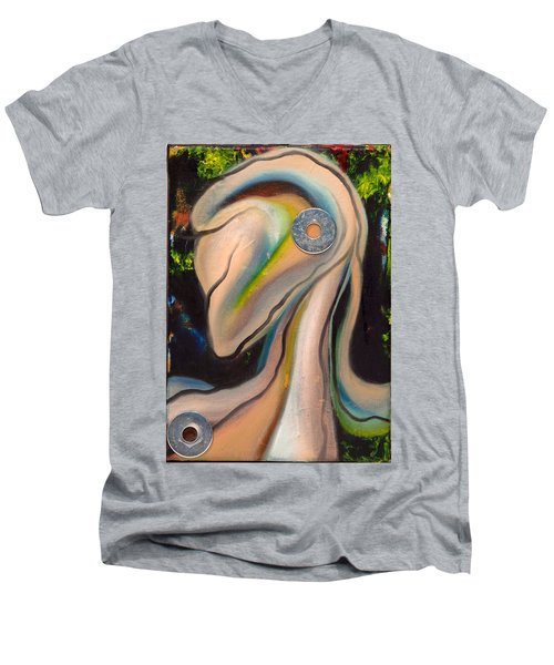 Kikeriki Men's V-Neck T-Shirt