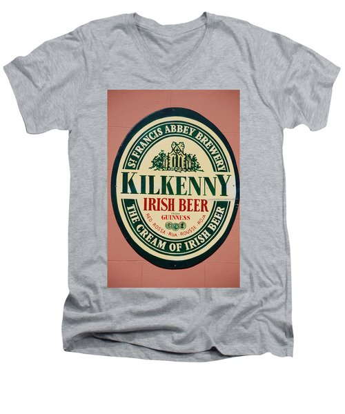 Kilkenny Irish Beer Men's V-Neck T-Shirt