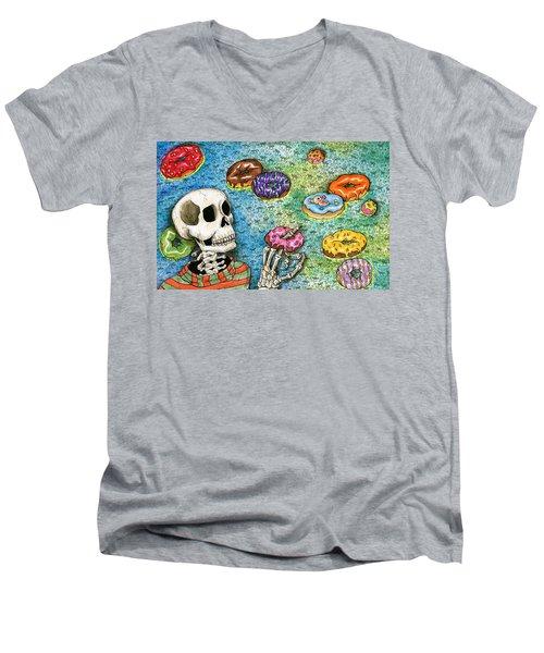 killer Donuts Men's V-Neck T-Shirt