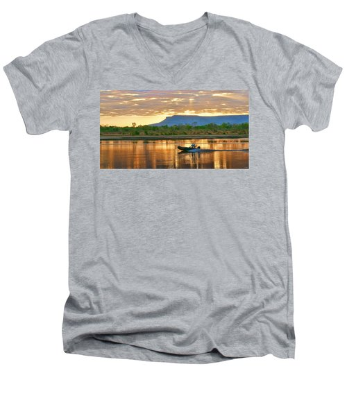 Kimberley Dawning Men's V-Neck T-Shirt