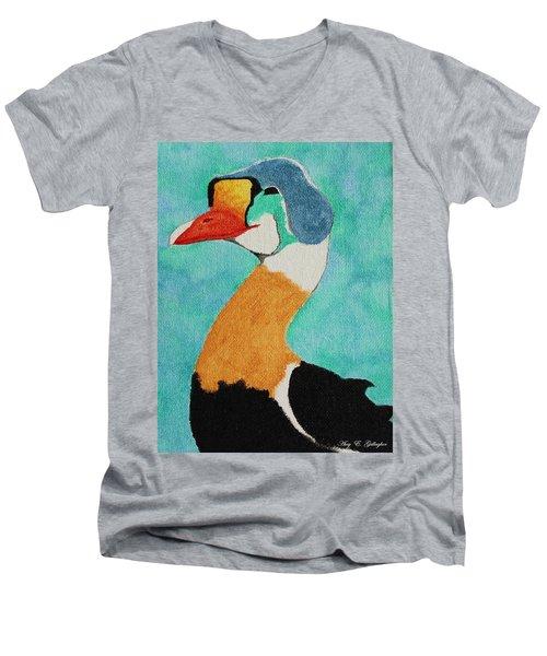 King Eider Men's V-Neck T-Shirt
