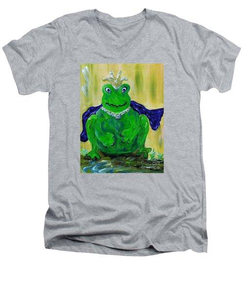 King For A Day Men's V-Neck T-Shirt