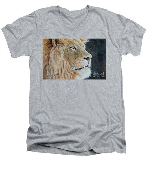 King Of The Forest.  Sold Men's V-Neck T-Shirt