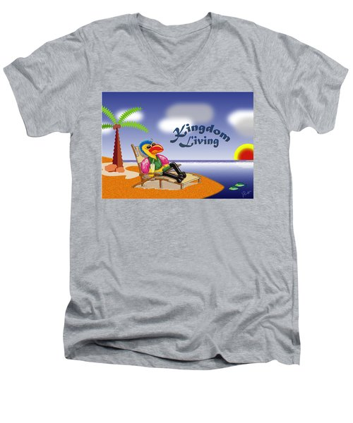 Kingdom Living Men's V-Neck T-Shirt