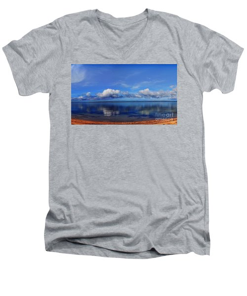 Kingscote View Men's V-Neck T-Shirt