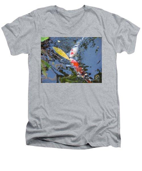Kissin' Koi Men's V-Neck T-Shirt